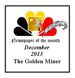 Newspaper of the Month/Year archive. Badge_11