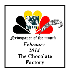 Newspaper of the Month/Year archive. Badge_13