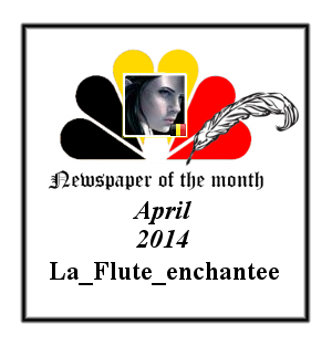 Newspaper of the Month/Year archive. Badge_15