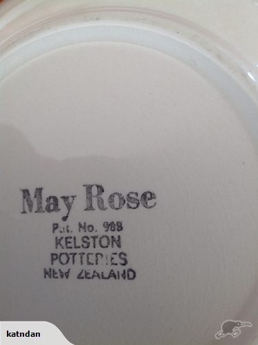 Kelston Potteries May Rose - Pattern number 985 30185710