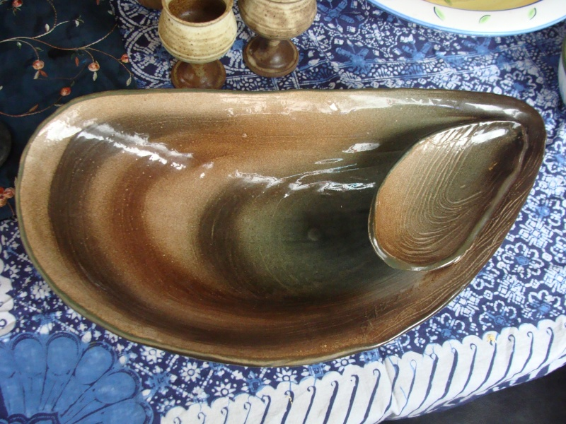 Large Roy Addison Whakatane Shellfish Dish Dsc04034