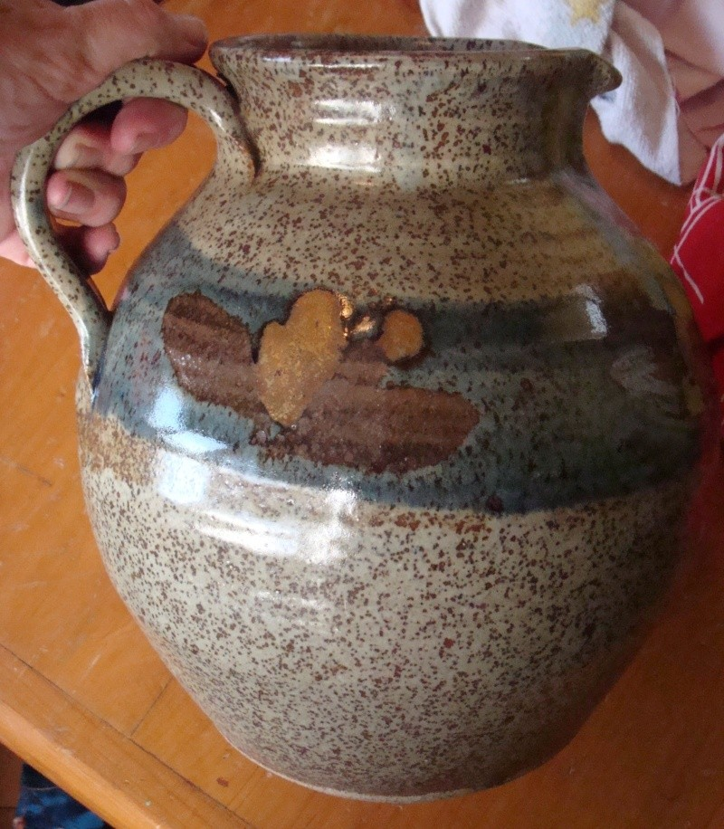 Large jug I was given today... was made by Paul Melser Dsc04040