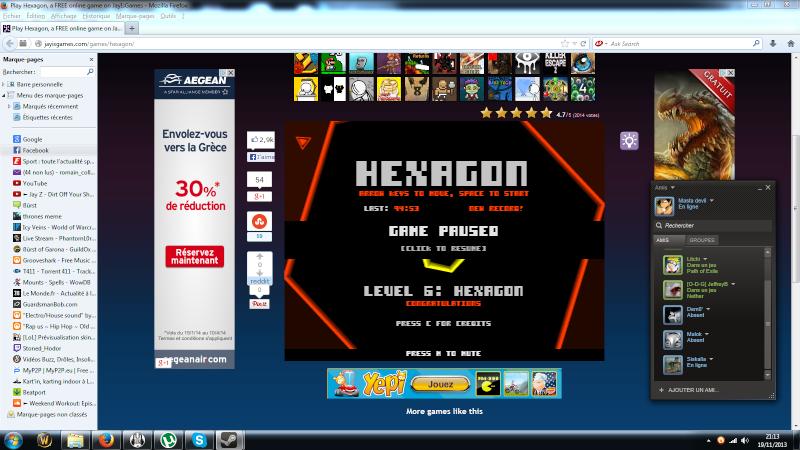 Hexagon [BEST SCORE] Plus_g10
