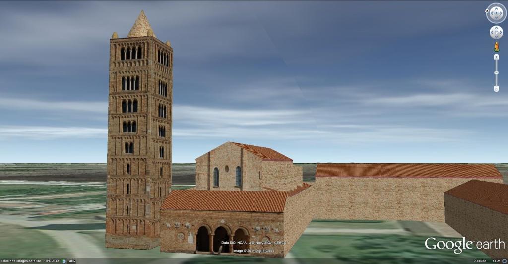 [Italie] - Abbaye Bénédictine de Pomposa à  Codigoro, province de Ferrare en Émilie-Romagne!! Abbaye12