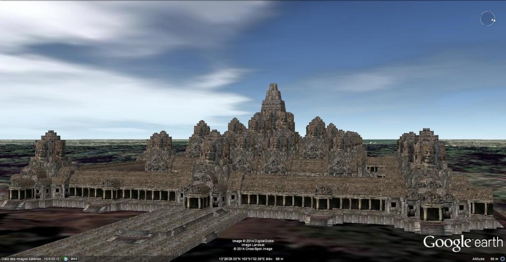 Le temple Bayon, Angkor Thom - Cambodge Bayon_18
