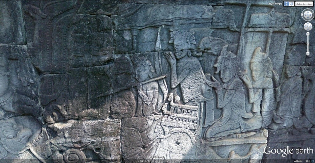 Le temple Bayon, Angkor Thom - Cambodge Bayon_19