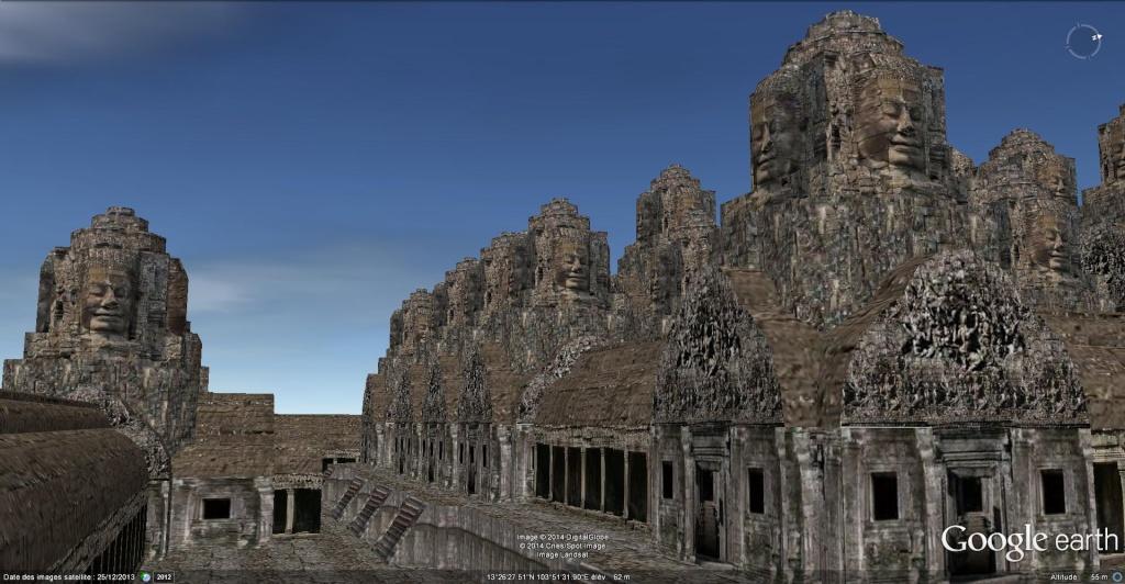 Le temple Bayon, Angkor Thom - Cambodge Bayon_21