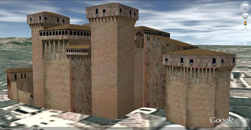 [Italie] - Château de Vignola à Vignola, Emilie-Romagne !! Chatea13