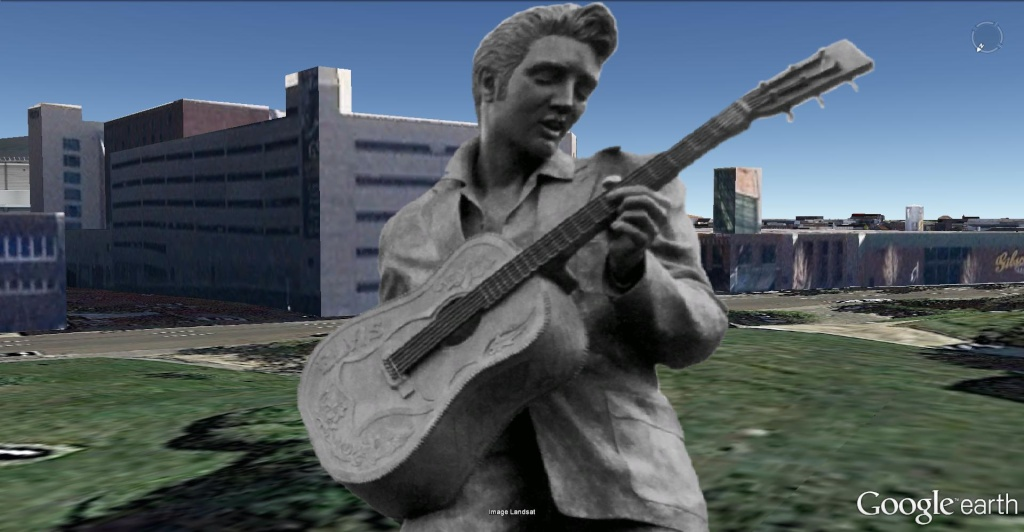 STREET VIEW : Elvis à Memphis - Tennessee - USA Elvis_11