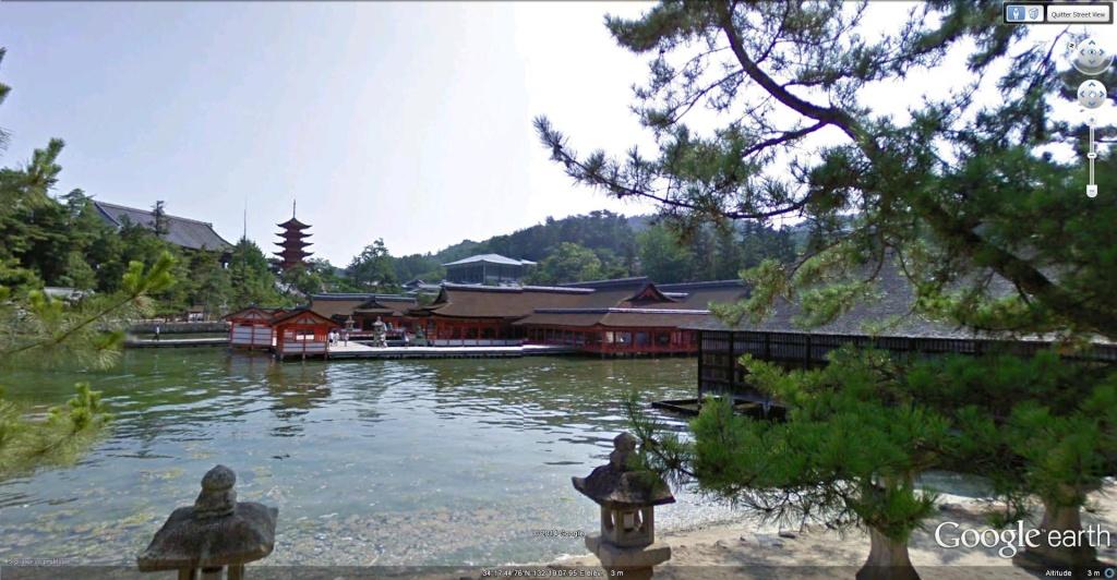 Sanctuaire shinto d'Itsukushima (Itsukushima Shinto Shrine), Miyajima, Hiroshima - Japon  Itsuku11