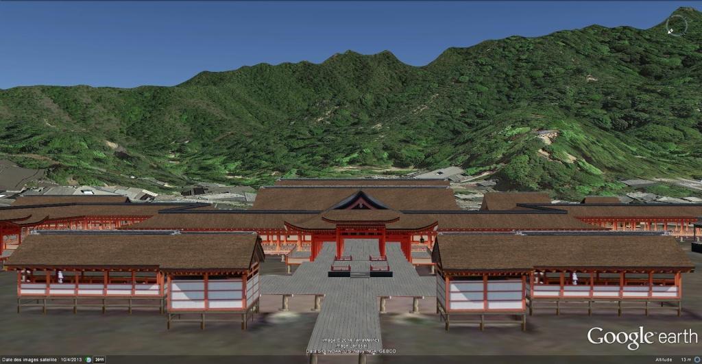 Sanctuaire shinto d'Itsukushima (Itsukushima Shinto Shrine), Miyajima, Hiroshima - Japon  Itsuku12