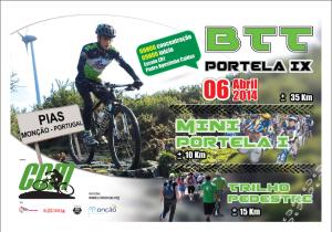 <Marcha> BTT da Portela 9 (06/04/´14 Monçao) Cartaz11