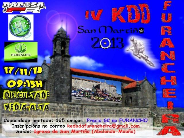"""<Kedada> Borrador IV Kedada MTB Furancheira """"San Martiño"""" Cartel11"""