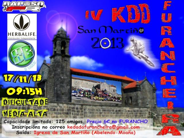 IV Kedada MTB Furancheira SAN MARTIÑO (17/11/´13) Cartel14