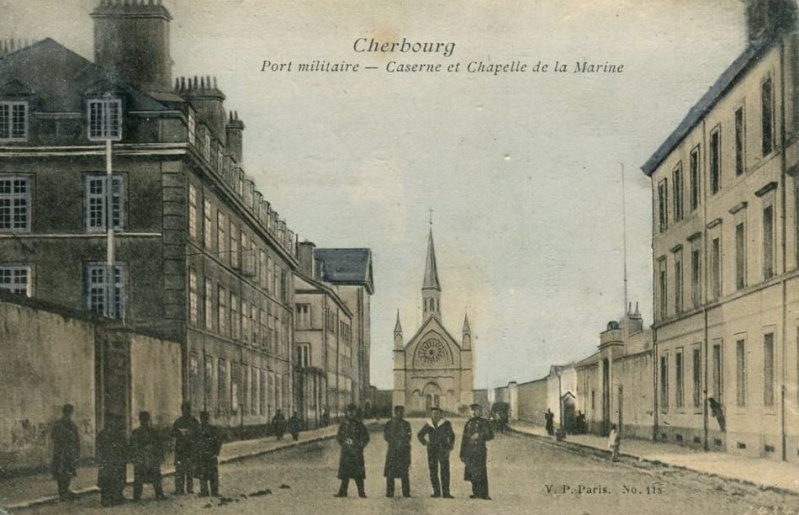 CHERBOURG - ECOLES - MARINE 998_0010