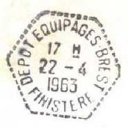 BREST - DEPOT DES EQUIPAGES A16