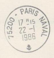 PARIS - PARIS NAVAL B13