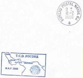 FOUDRE (TRANSPORT DE CHALANDS DE DEBARQUEMENT) B20
