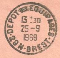 BREST - DEPOT DES EQUIPAGES C13