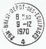 BREST - DEPOT DES EQUIPAGES D13
