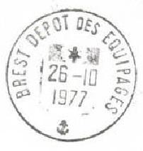 BREST - DEPOT DES EQUIPAGES E12