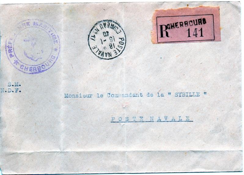 NAVAL - Bureau Naval N° 17 de Cherbourg Img52010