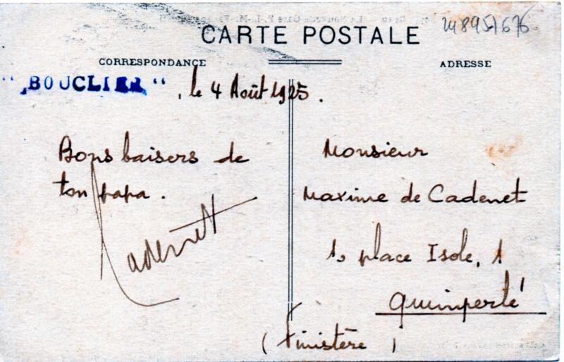 * BOUCLIER (1911/1933) * Img85110