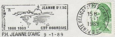 jeanne - JEANNE D'ARC (PORTE-HELICOPTERES) W1310