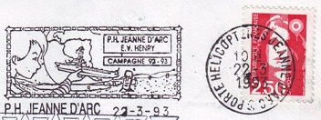 jeanne - JEANNE D'ARC (PORTE-HELICOPTERES) W1710
