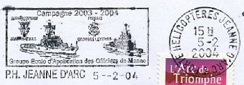 jeanne - JEANNE D'ARC (PORTE-HELICOPTERES) W2810