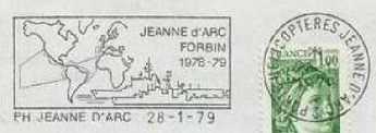 JEANNE D'ARC (PORTE-HELICOPTERES) W310