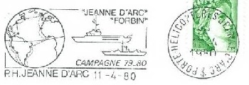 JEANNE D'ARC (PORTE-HELICOPTERES) W410