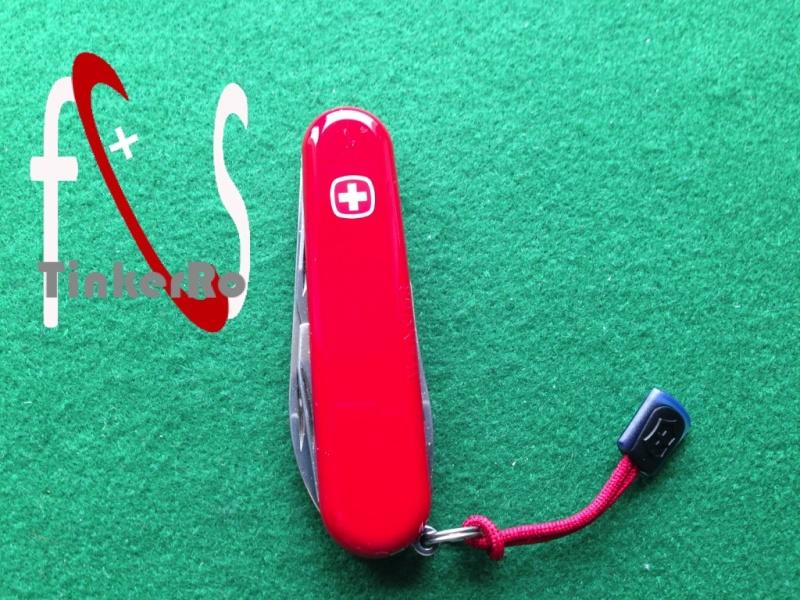 Modification d'un Wenger Classic 07, rouge Prasen10