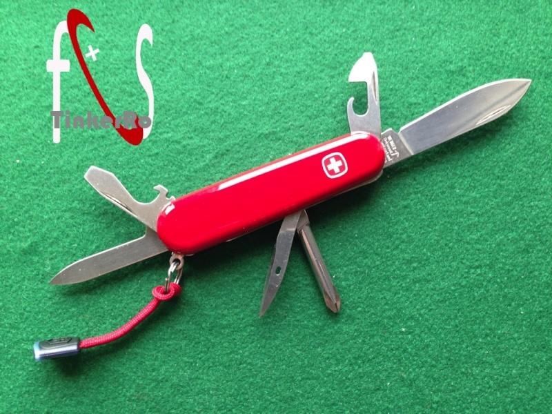 Modification d'un Wenger Classic 07, rouge Prasen12