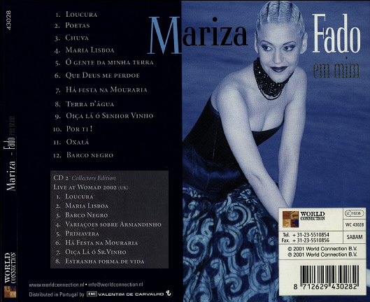 Musiques traditionnelles : Playlist - Page 3 Mariza10