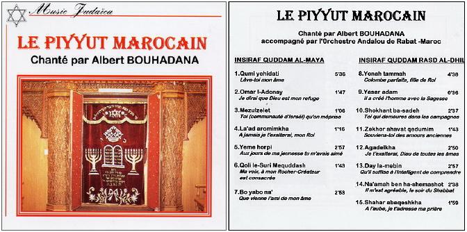 Musiques traditionnelles : Playlist Piyyut11