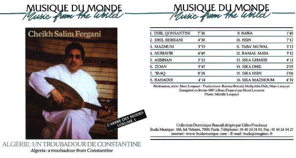 Musiques traditionnelles : Playlist Sferga10