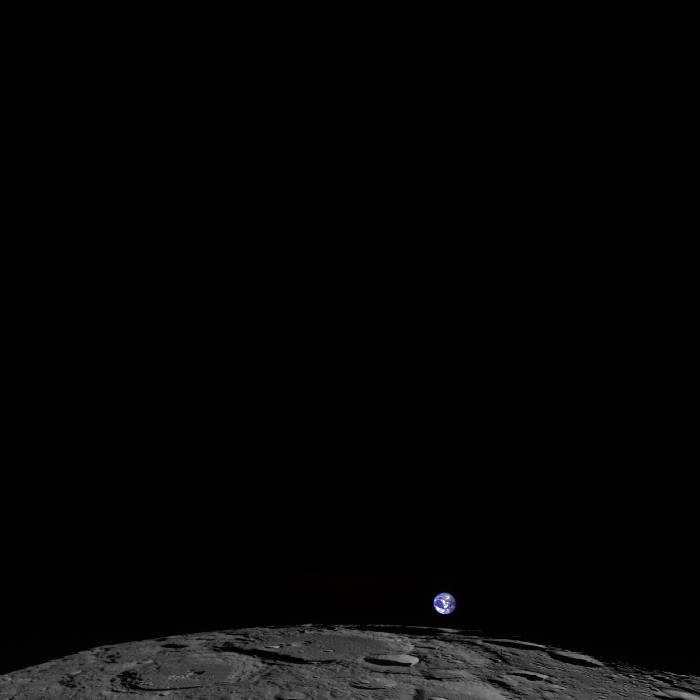 Impresionante imagen del planeta Tierra asomando por el horizonte de la Luna 10172610