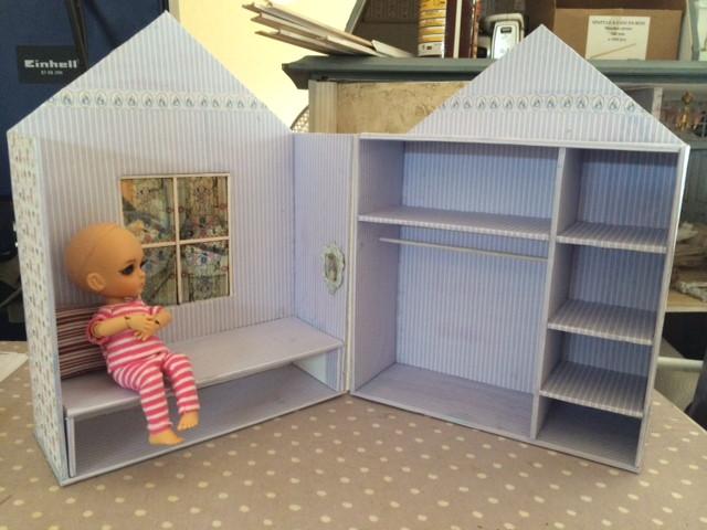 Chambre boite pour Tiny BJD Photo-12