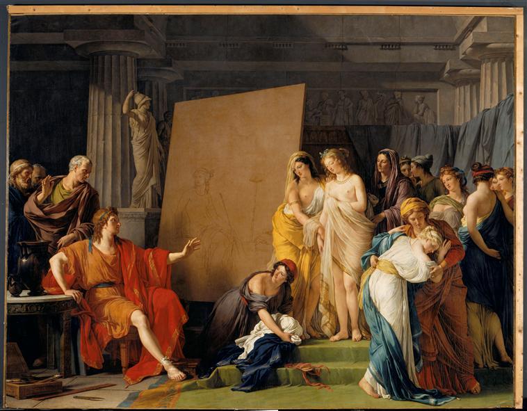 Le peintre François-André Vincent 92-00210