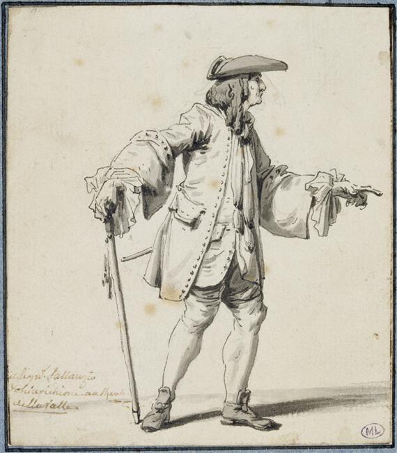 Le peintre François-André Vincent 97-00411