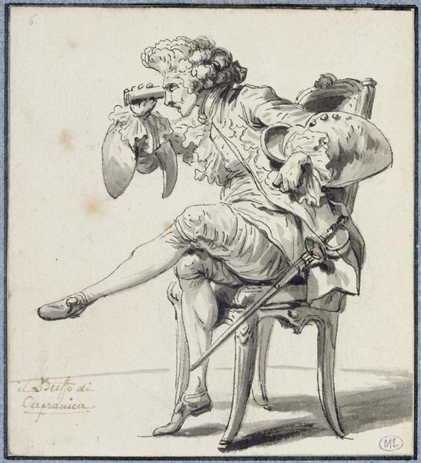 Le peintre François-André Vincent 97-00412
