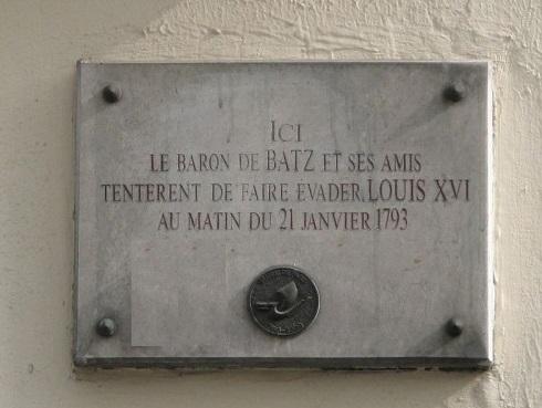 L'exécution de Louis XVI le 21 janvier 1793 Baron_10
