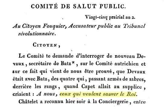 L'exécution de Louis XVI le 21 janvier 1793 Batz10
