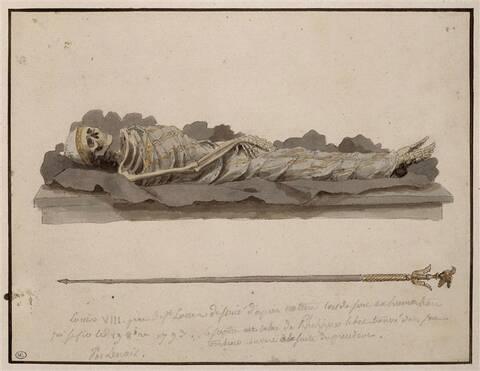 L'exhumation des rois et reines de France, profanation des tombes de la  basilique Saint-Denis (1793)