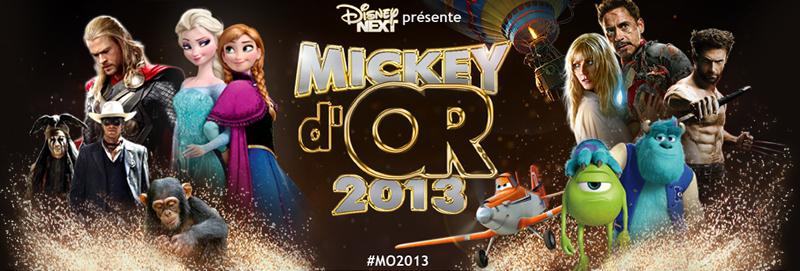 Mickey d'Or 2013 : découvrez le palmarès de l'année ! Mo201310