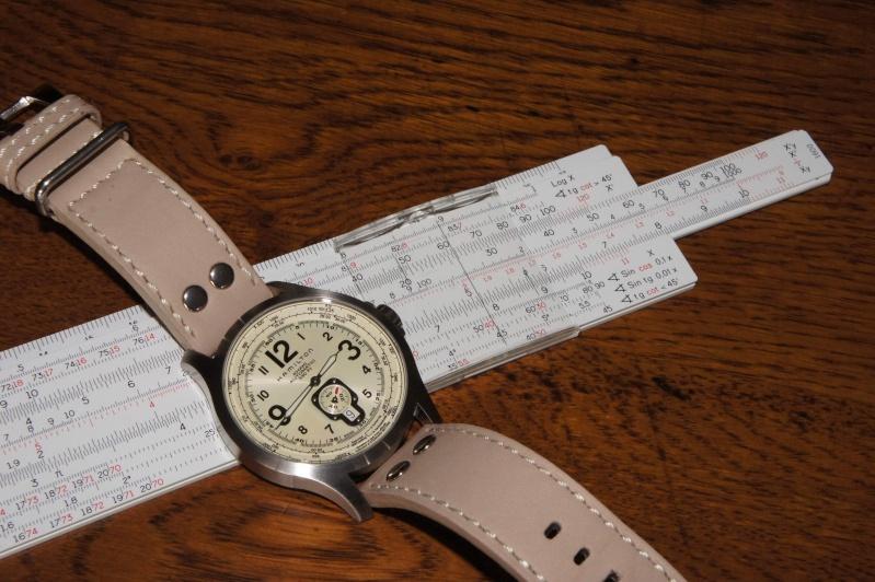 Existe-t'il une montre avec règle à calcul fine et simple? Calcul10