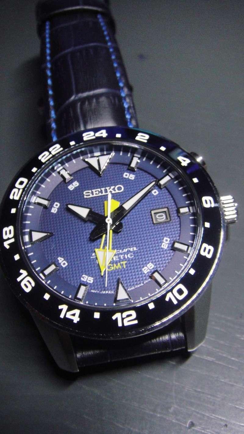 Votre avis entre ces 3 montres homme Seiko solar /kinetic / CItizen eco-drive Gmt12
