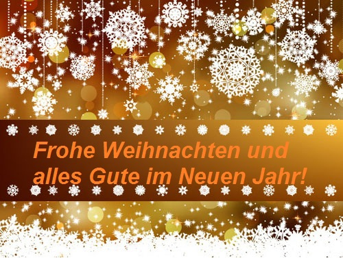 Best wishes for the festive season.  Weihna13