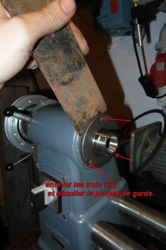 entretien d'un tour scintilla LESTO GD 118A (tour à bois et métaux) 03-les11